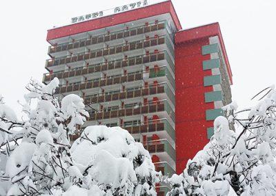 Hotel Cozia Apropiere