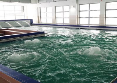 Bazin piscina interioara