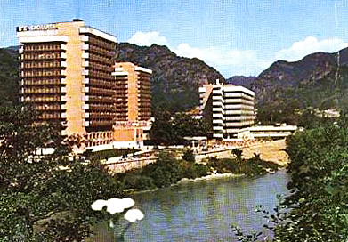 Complex Balnear Cozia - Anul 1990