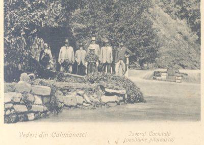 Izvorul Caciulata - Secolul XIX