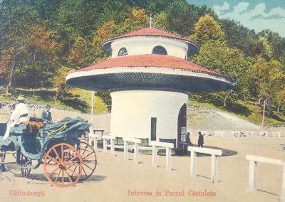 Parcul Caciulata  - Inceput de secol XX